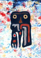 Totem in Winter