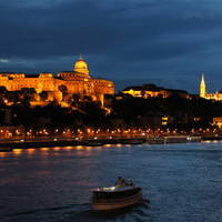Budapest @ night Art Prints & Posters by Sander Deschout