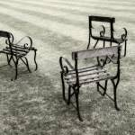"""Lawn Chairs, Trinity College, Oxford"" by SederquistPhotography"