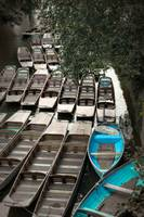 Punting Boats, Oxford