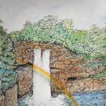 """""""Rainbow Falls Hawaii"""" by KerryB"""