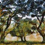 Van Gogh Oaks by Leapdaybride Visual Arts