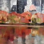 """Autumn in New York City Central Park"" by novinart"
