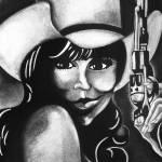 """Cowgirl"" by SheenaBolken"