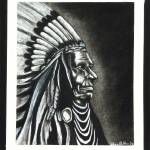 """Native American Chief"" by SheenaBolken"