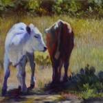 """Coming and Going"" by Beckyhicksfineart"