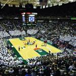"""Michigan State - Breslin Center"" by IK_Stores"