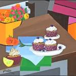 """""""DELICIOUS CUP CAKES"""" by ROFFEART"""