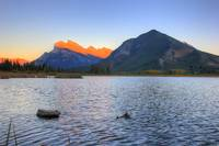 Vermilion Lakes Sunset, Banff National Park