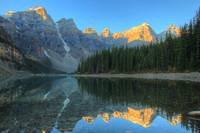 Moraine Lake with Reflection, Banff National Park