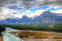 Whirlpool Valley under Cloud, Canadian Rockies