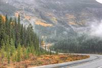 Icefields Parkway under Cloud, Canadian Rockies