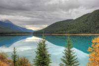 Mistaya Lake under Cloud, Canadian Rockies