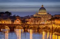 Christmas Twilight in St. Peter's