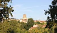 View of Vouvant