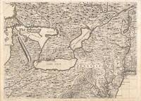 Vintage Map of The Great Lakes (1733)