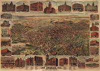 Vintage Map of Los Angeles (1891)