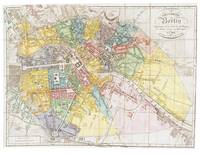 Vintage Map of Berlin Germany (1846)