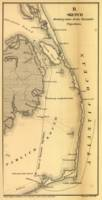Vintage Map of The Outer Banks (1862)