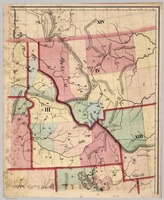 Vintage Map of Idaho (1866)