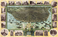 Vintage Pictorial Map of St. Louis (1896)
