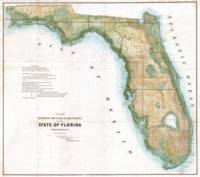 Vintage Map of Florida (1848)