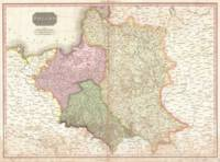 Vintage Map of Poland (1818)