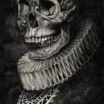 """Skull"" by edinjahicart"