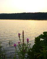 Holyoke, Mass. - Ashley Resevoir at Sunset with Wi