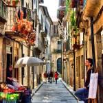 """Santa Maria street in Guimaraes"" by vribeiro"