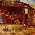 """Country Breakfast"" by ArtLoversOnline"
