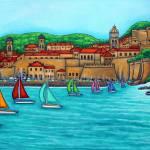 """Dubrovnik Regatta"" by LisaLorenz"