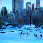 """New York City - Central Park Winter Ice"" by arthop77"