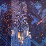 """New York City Midtown Manhattan Chrysler Building"" by arthop77"
