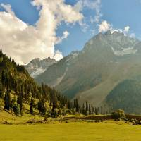 Sonmarg, the meadow of gold kashmir Art Prints & Posters by Basharat Shah