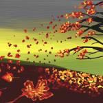 """TREE IN THE WIND"" by RaKa"