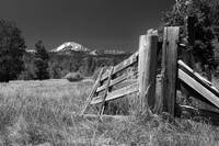 Old Fence At Mount Lassen