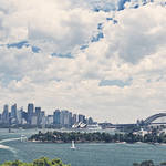 """Stormy Sydney Harbour"" by jmpaget"