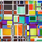 """Stained Glass Window Multi-Colored Abstract"" by NatalieKinnear"