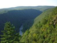 North View Pennsylvania Grand  Canyon by Ave Hurle