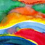 """Colorscape 2 #2020213"" by achimkrasenbrinkart"