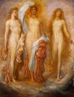 Olympus on Ida (The Judgement of Paris), 1885 (oil