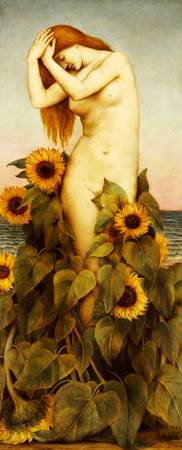 Clytie, 1886-87 (oil on canvas)