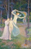 Women amongst the Trees, 1897 (oil on canvas)