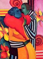 The Lovers, 2006 (oil on canvas)