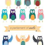 """A Parliament of Owls"" by greatskybear"