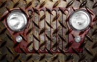 Civilian Jeep- Maroon