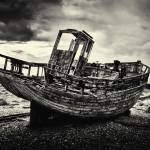 """Old Fishing Boat"" by ianbroadmore"