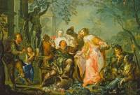 The Pleasures of the Seasons: Autumn, c.1730 (oil