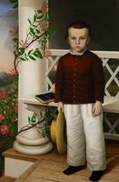 Portrait of a Boy, 1856 (oil on canvas)
